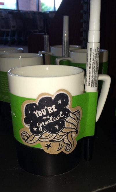 Starbucks Chalkboard Mug