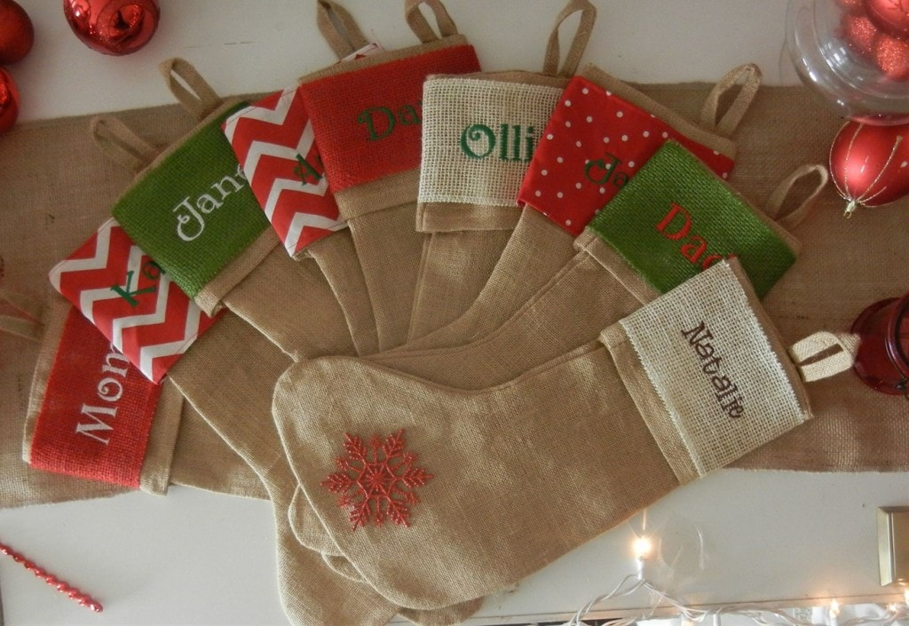 Christmas in July: Save Big on Personalized Stockings!
