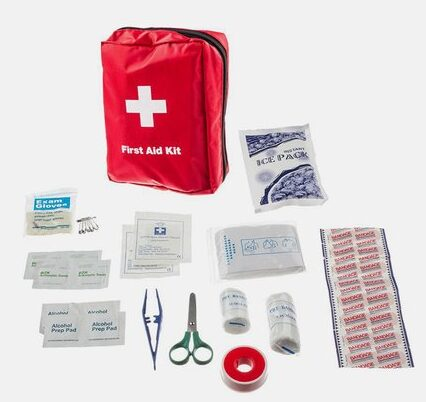 34-Piece Comprehensive First Aid Kit