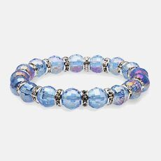 Alexander Kalifano Glass Sapphire Bracelet