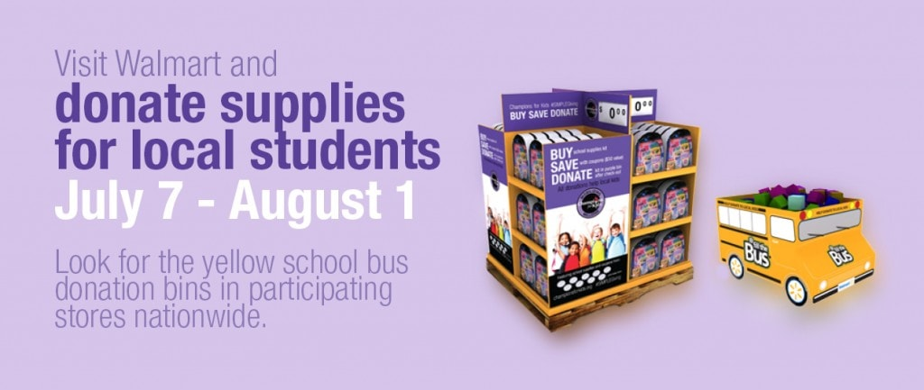 Champions for Kids – Help Give Back 2 School Supplies for Kids in Need! #SimpleGiving