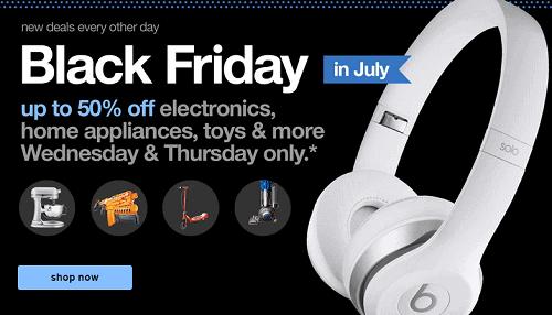 Black Friday In July Target Sale