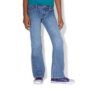 Bootcut Jeans - Blue Charm