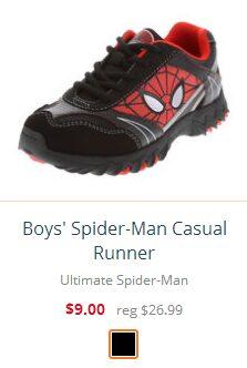 Boys' Spider-Man Casual Runner