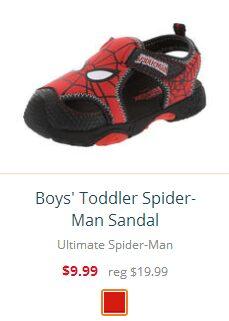 Boys' Toddler Spider-Man Sandal