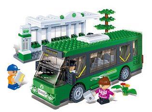 Bus Station Block Set