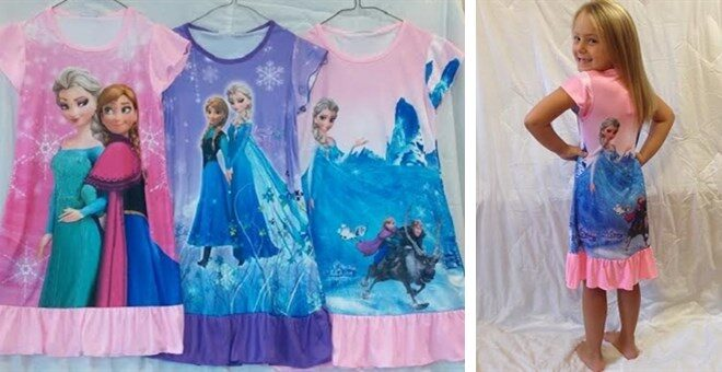 CHARACTER INSPIRED nightgowns