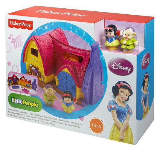 Fisher-Price Little People Disney Princess Snow White Cottage Play Set