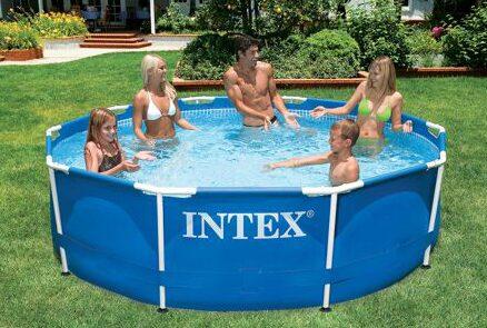 Intex Metal Frame Swimming Pool