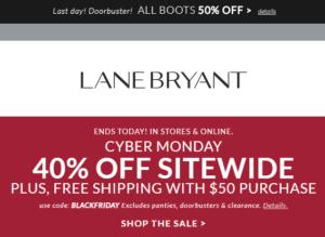 Lane Bryant Coupon Code