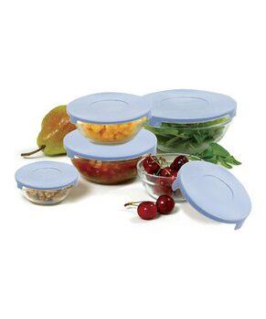 Lidded Five-Piece Mixing Bowl Set