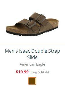 Men's Isaac Double Strap Slide