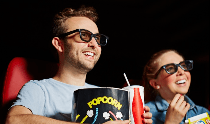 Movie Theater Deal: Tickets, Popcorn & Soda for Two for As Low As $10 Per Person!
