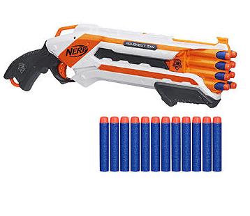 Nerf N-Strike Elite Rough Cut 2X4 Blaster & Elite Dart Refill Bundle – $14.49 (Reg. $21.99) #KmartSummerFun