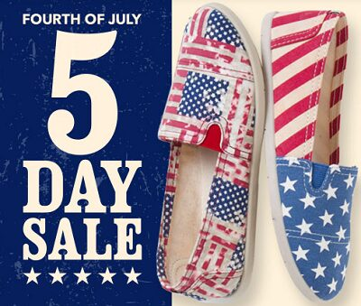 Payless Shoes up to 50% OFF 4th of July Sale + extra 20% OFF Clearance Items