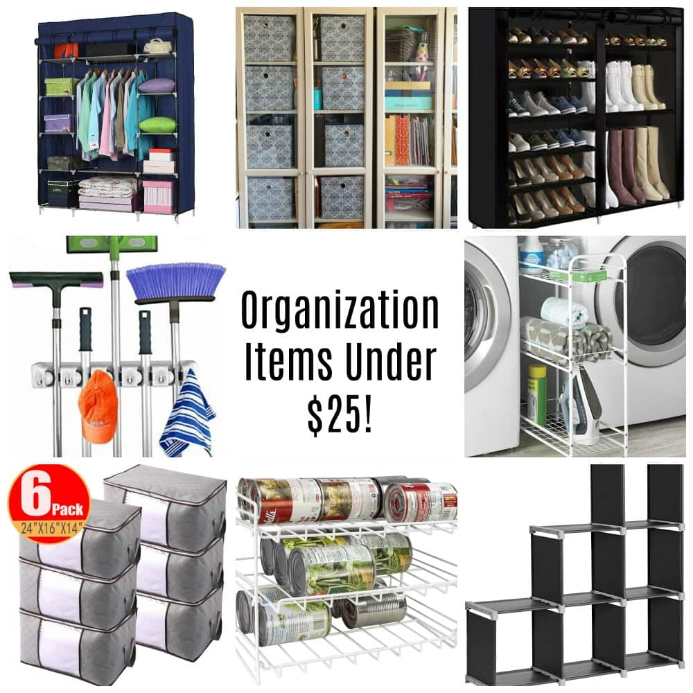 Home Organization Items Under $25 – Starting At $3.49!