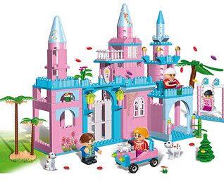 Pink Mansion Block Set