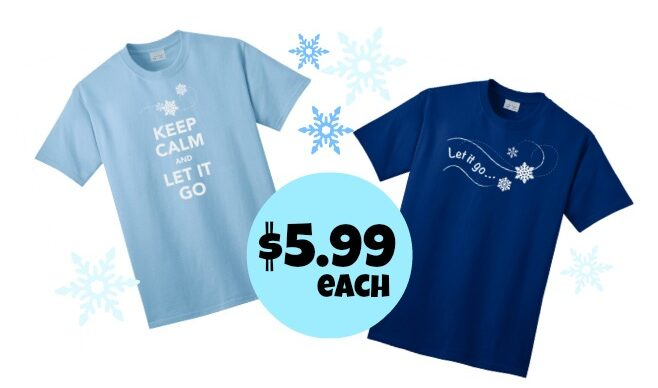 Frozen Inspired T Shirts