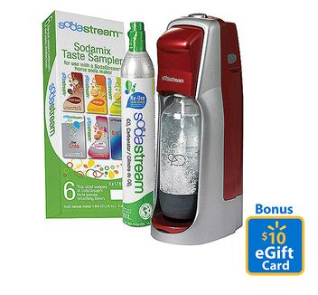 SodaStream Starter Kit ONLY $39.00 after Gift Card and Rebate!