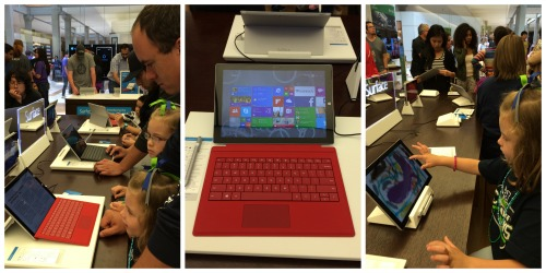 Surface 3 Tablet at Microsoft store