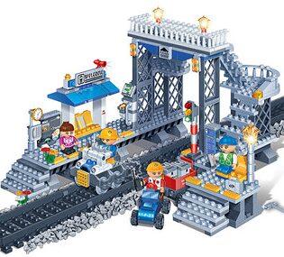 Train Station Block Set