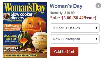 Magazine Sale Just $5 Each! Everyday with Rachael Ray $5, & Many More!