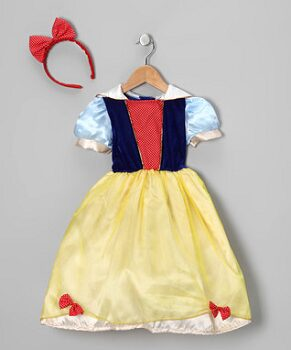 Yellow & Blue Princess Dress-Up Set - Toddler & Girls