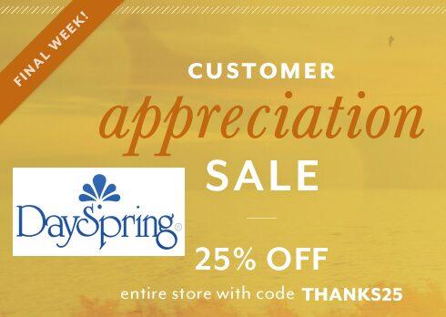 dayspring sale