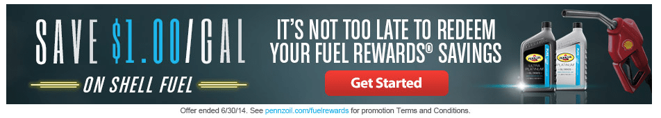 Shell Fuel Network Rewards Program – Save on Gas When Shopping Online, Eating Out, Using eCoupons & More!