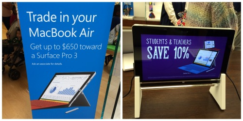 Surface 3 Discounts