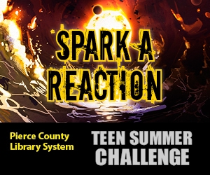 Pierce County Library Teen Summer Challenge