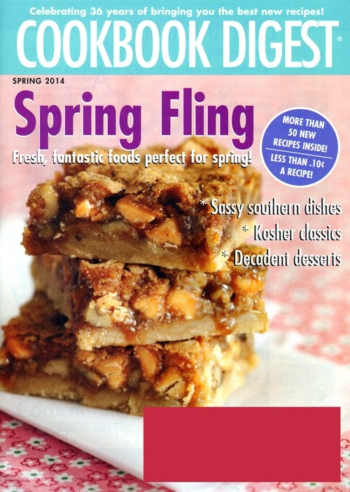 Cookbook Digest – $9.99 For One Year!