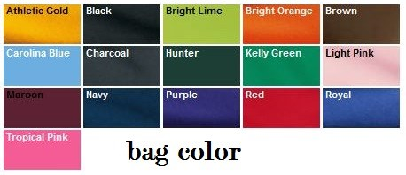 Personalized Drawstring Bags Only $10.99