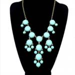 Beautiful and Stylish Women Bubble Bib Statement Fashion Chain Necklace