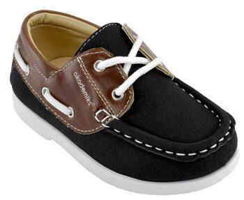Black Dan Boat Shoe