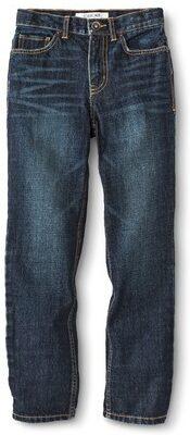 Boys' Dark Wash Regular Jean