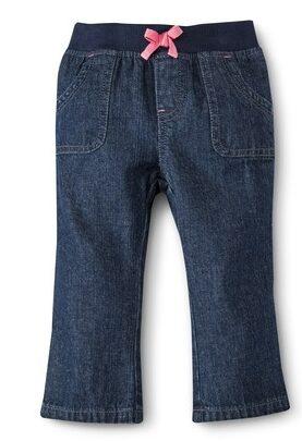 Circo Infant Toddler Girls Jeans - Dark Blue