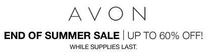 End Of Summer Avon Sale