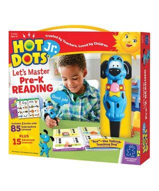 Hot Dots Jr. 'Let's Master Pre-K Reading' Set