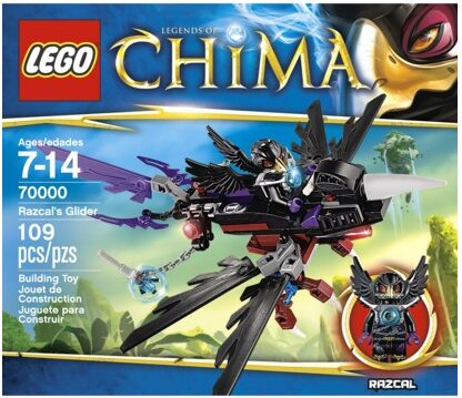 LEGO Legends of Chima 70000 – Razcal's Glider Only $7.41!