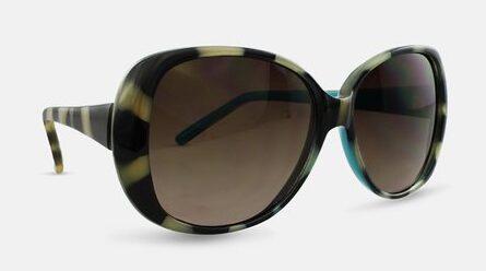 Liz Claiborne Villager Turquoise Zebra Sunglasses $5.99 Shipped!