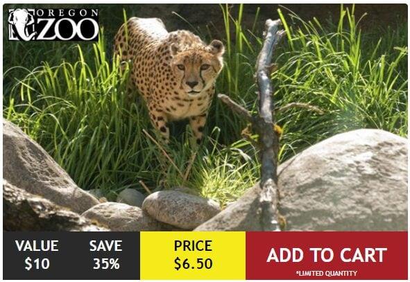 Oregon Zoo Discount