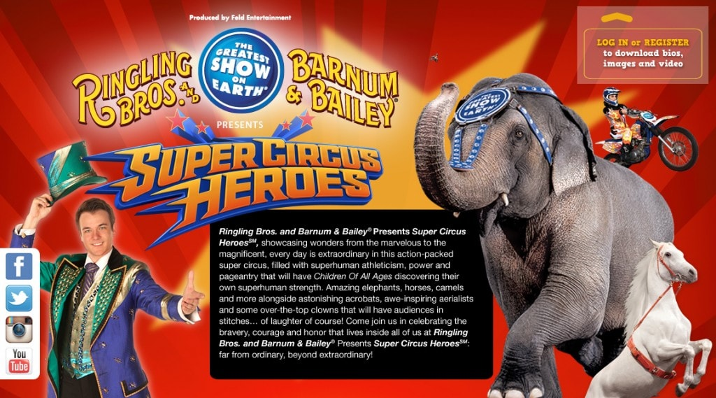 Discount Tickets to Ringling Bros. & Barnum & Bailey Circus Coming to Seattle & Portland Areas