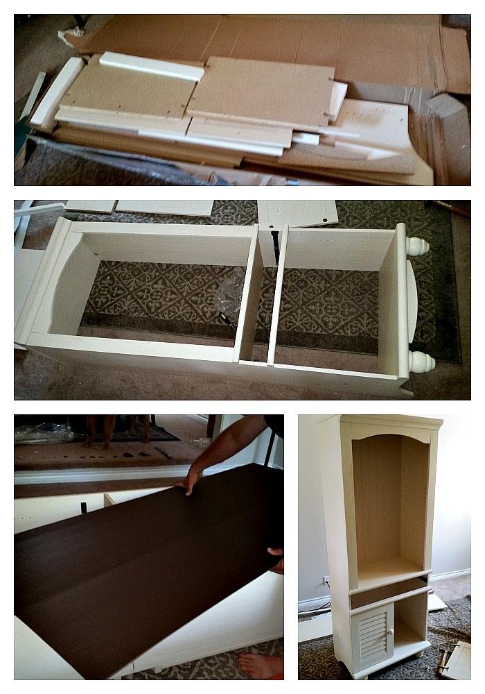 Sauder Furniture Assembly