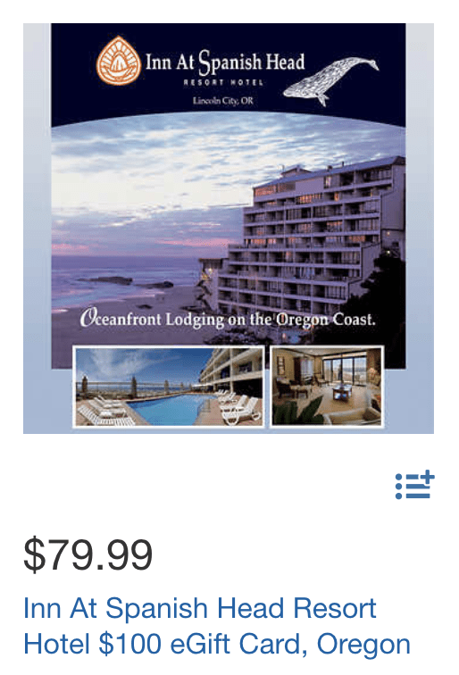 Costco Travel Savings at OR hotel