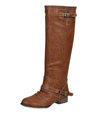 Tan Buckle Outlaw Boot