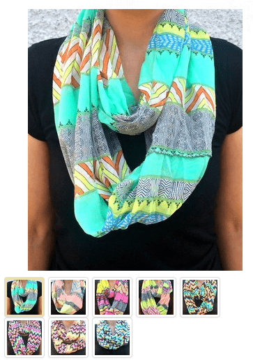 Trendy Infinity Scarfs Only $15.99 Per 4 Pack Shipped!