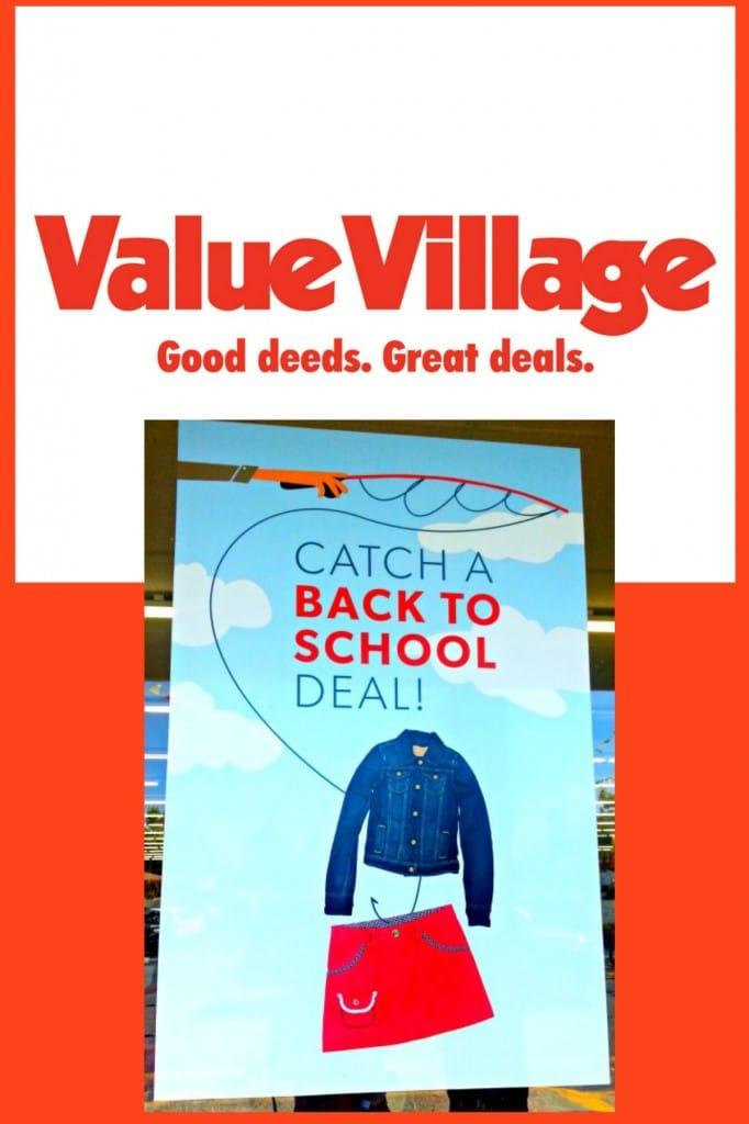 Value Village Collage