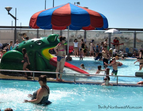 Wilson Pool in Portland Frog Slide