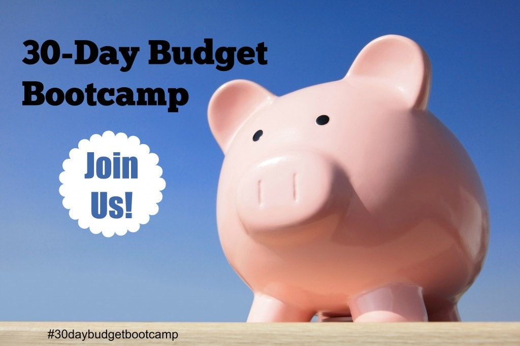 30 Day Budget Bootcamp